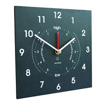 Ashortwalk Tide and Time Clock - displays tide times and time, wall mounted
