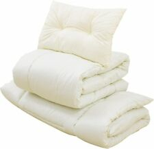 EMOOR Compact-Sized Japanese Futon Set, Compact-Twin-Size, Made in Japan