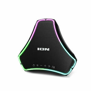 Ion Triumph Waterproof Floating Boombox Bluetooth Speaker LED Illumination FM™