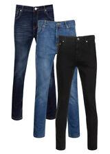 Indie Jeans Jeans, Mens Skinny desagüe, Jeans Cónicos, retro vaqueros, Stretch