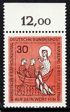 TIMBRE ALLEMAGNE  NEUF N° 372 ** JOURNEE CATHOLIQUE A BAMBERG BORD DE FEUILLE