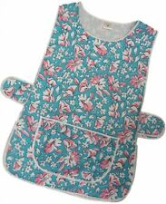 1 Ladies Floral Tabard Tabbard Apron Work Overall / Claire / All Sizes