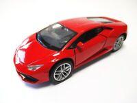 Lamborghini Huracan rot Modellauto Metall 1:34, diecast,Welly Nex Model