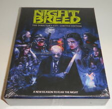 Nightbreed - The Director's Cut Limited Edition [Blu-ray Set, 10000 Made] NEW
