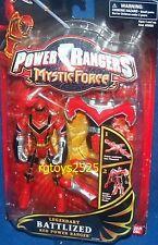Power Rangers Mystic Force Legendary Battlized Red Power Ranger New Titan Mode