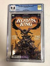 Dark Nights: Death Metal Robin King (2020) # 1 (CGC 9.8 WP) 1st Print
