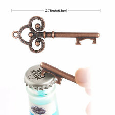 10pcs Vintage Skeleton Key Bottle Opener Bridal Shower Wedding Favor Decor Tool