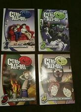Ctrl+Alt+Del, Volumes  1-4, 4 book lot by Buckley, Tim. Paperback, NEW Free S/H