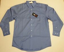 River's End  Blue Long Sleeve Men's Dress Shirt Size Large