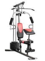 Home Gym Total Workout Fitness Machine Strength Training Weight Equipment Health