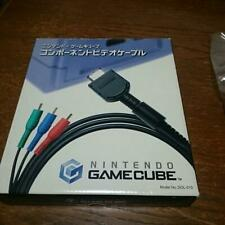 Nintendo GameCube Component Video Cable DOL-010 Boxed Official Japan Unused #879