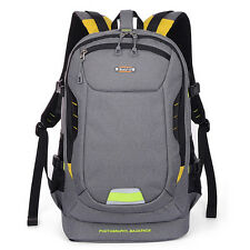Camera Backpack Rucksack Bag Case For DSLR SLR Canon EOS Rebel Sony Nikon