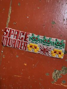 Rare Vintage Space Invaders Patch