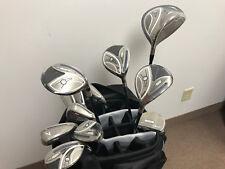 NEW Adams 2014 Idea Ladies Complete Golf Club Set w/ Cart Bag Black/Purple