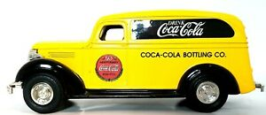 Coca Cola Die-Cast Coin Bank 1936 Chevrolet Size 1:43 Made 1995 by Ertl