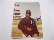 Mike Wallace Autographed Photo JSA Auction Certified