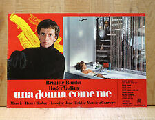 UNA DONNA COME ME fotobusta poster Don Juan 73 Brigitte Bardot Jane Birkin Vadim