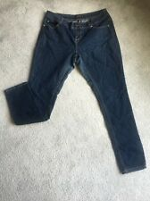 ROCAWEAR Womens size 16 Denim Jeans Back Pockets Embroidery