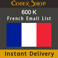 600K 🎏 France 💌✔️  French Consumer Email List Sales database 💌✔️