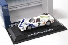 1:43 EBBRO Porsche 906 Japan Grand Prix 1968 white #29 NEW bei PREMIUM-MODELCARS