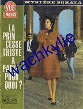 Point de vue n°749 du 19/10/1962 Princesse Soraya Iran