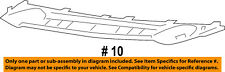 Jeep CHRYSLER OEM Front Bumper Grille Grill-Applique Window Trim 68091529AA