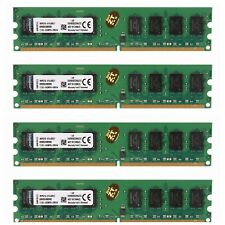 For Kingston 8GB PC2-6400 4 x 2GB Desktop Memory DDR2 800Mhz 240pin CL6 DIMM RAM