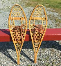 GREAT SNOWSHOES 33x9 Snow Shoes LEATHER BINDINGS