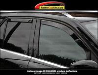MERCEDES ML 2012 2013 2014 2015 rain guards window visors shades in channel