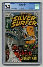 The Silver Surfer - CGC 9.2 - Marvel - 1st Doomsday Man - Stan Lee - 1970