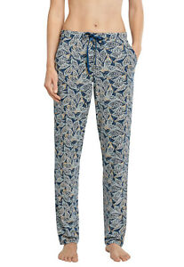 Ladies Jersey Trousers Lounge Normal Size Tall Schiesser Mix & Relax
