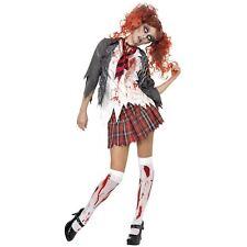 Smiffys High School Horror Zombie Schoolgirl Costume (r4o)