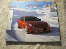 Ferrari FF Full Customer Hardback Brochure Prospekt Catalogue Book 74 pgs ENG/IT