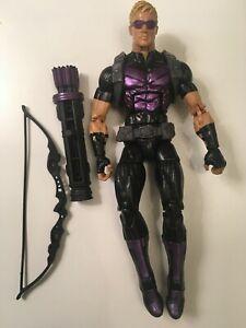 """Marvel Legends Hawkeye Rocket Raccoon BAF Series Wave 6"""" Loose Figure Complete"""
