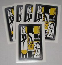 New Listing Lot of 5 Planters Mr Peanut Puzzle Postcards - Brand New