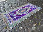 Handmade wool rug, Turkish vintage rug, Carpet, Bohemian rug | 3,3 x 6,4 ft