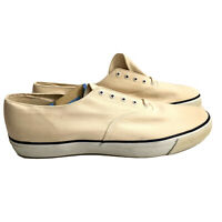 Cream Mens Sperry Size 14 Brand New With Tags Sneakers