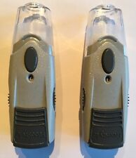 2 Abbott Freestyle Lancet Lancing Devices with Alternate Site Clear Cap 70476-02