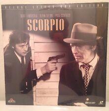 Scorpio WS NEW SEALED Laserdisc LD  Lancaster Delon