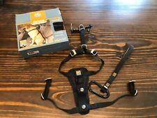 Size S Black KURGO Tru-Fit Smart Dog Auto/Car & Walking Harness Crash Tested