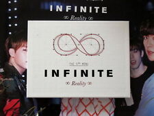 INFINITE F Autographed 2015 MINI5th album Reality CD new korean official version