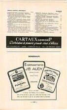 ADVERTISEMENT Vineyard Wine J B Audy Clos Du Clocher Chateau La Cabanne Libourne