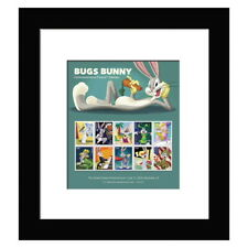 USPS New Bugs Bunny Framed Stamps