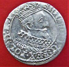 SILVER COIN POLAND LITHUANIA SIGISMUND III WASA 1626 GROSZ GROSCHEN GDANSK