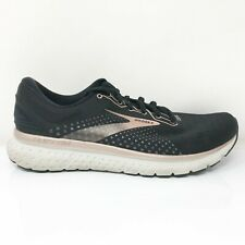 Brooks Womens Glycerin 18 1203171B057 Black Running Shoes Lace Up Size 9.5 B