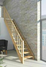 Miller Space Saving Loft Staircase, Spruce Wood (Dolle PARIS)