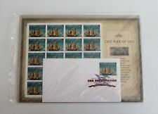 USPS 2012 War of 1812, USS Constitution, DCP Keepsake, 20 Stamps, 1DCP,, Sealed