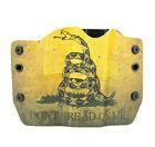 Taurus, Don't Tread On Me, OWB Kydex Gun Holsters