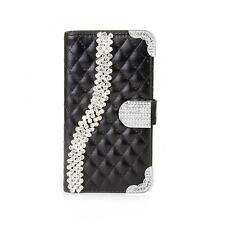 Handy Tasche Schutz hülle für Samsung Galaxy Alpha Flip Cover Case schwarz K917