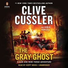 Clive Cussler THE GRAY GHOST Unabridged CD *NEW* FAST Ship $45 Value